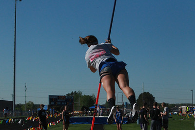 UP Girls' Field Events - 2014 MHSAA T&F Finals