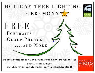 Tree Lighting Ceremony 2016