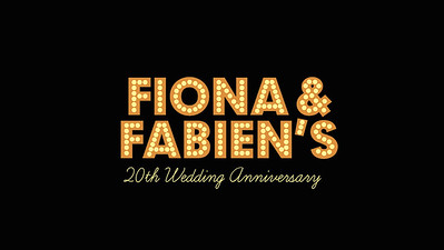 29.05 Fiona and Fabien's 20th Wedding Anniversary