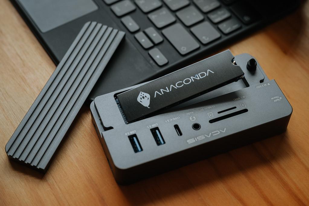 ACASIS 10-in-1 SSD 集線盒 by 旅行攝影師張威廉 Wilhelm Chang