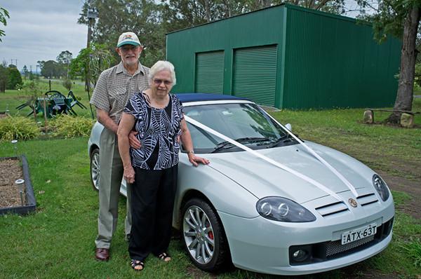 elaine & bart's 50th wedding anniversary