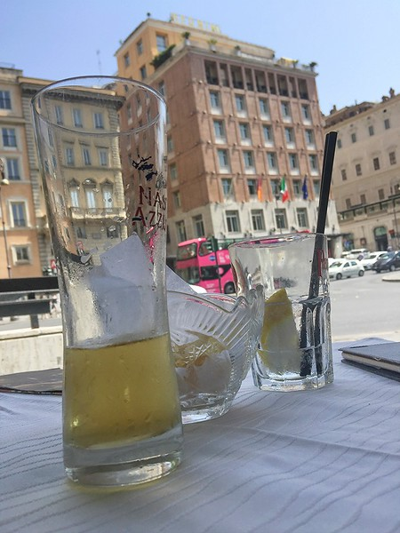 Rome in a heat wave