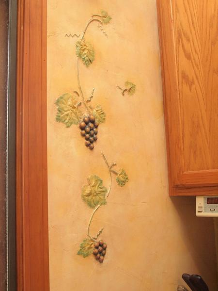 unique detailing in the kitchen