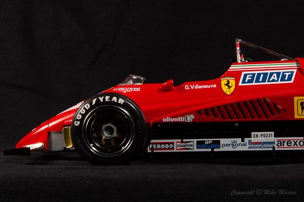 Ferrari 126 C2 No.27 Gilles Villenueve