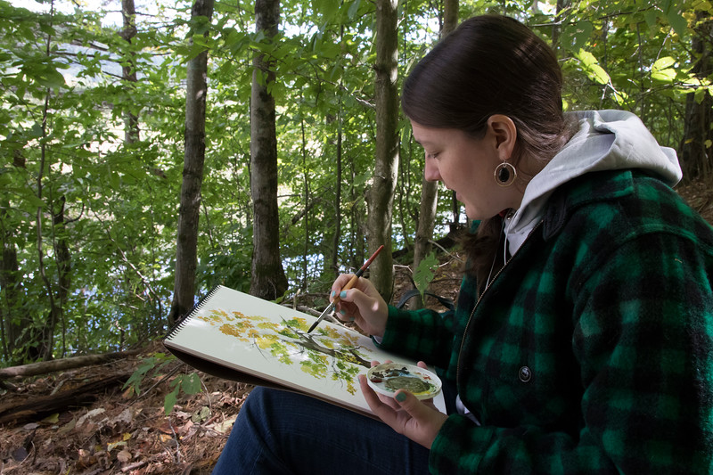 shumskis03-While_some_artists_captured_an_entire_landscape_artist_Amy_Hook-Therrien_focused_on_a_single_sugar_maple.jpg