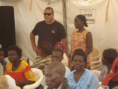 2nd Uganda Medical Mission Day 10 Presentation of Certificate of Appreciation