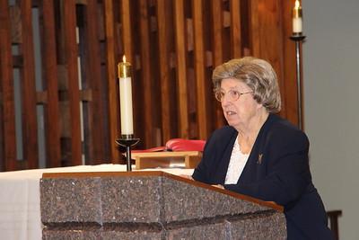 Sister Margaret's 60th Anniversary Jubilee (Dec. 2015)