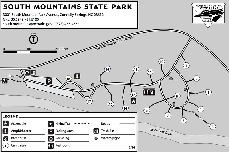 South Mountains State Park (Campground Map)