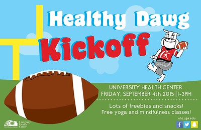 Healthy Dawg Kick-off 2015 - 9.4.15