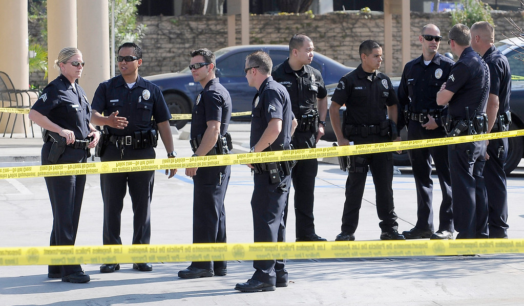 . A 10-year-old girl who was reported missing from her family\'s Northridge home was found safe Monday afternoon in Woodland Hills, and police said it was unclear whether she had been abducted or ran away. After an 11-hour search, Nicole Ryan was found near a strip mall about six miles from her home, Los Angeles police Capt. Kris Pitcher said. Woodland Hills,CA 3/26/2013(John McCoy/Staff Photographer