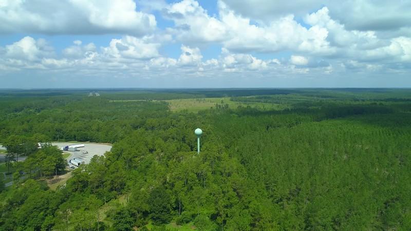 Aerial video Alabama nature landscape