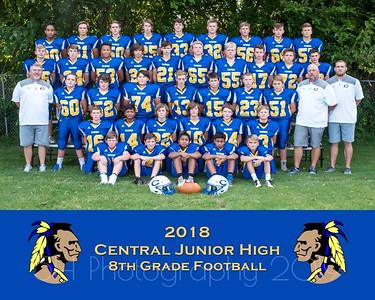 Central Football- 8th Grade