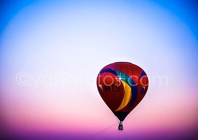 Art Show Hot Air Balloons