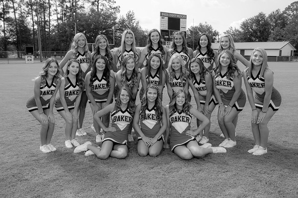 JV CHEER B&W