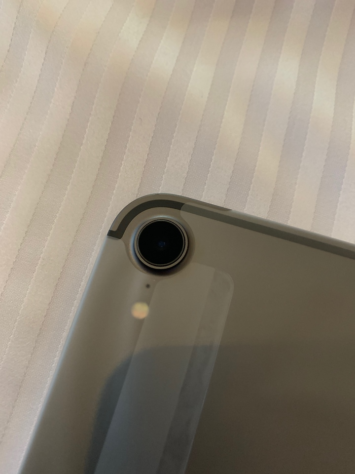 Apple iPad Pro 11inch 2019 Close up of the Camera