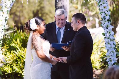 David and Tia's Wedding at Ke'ehi Memorial Park