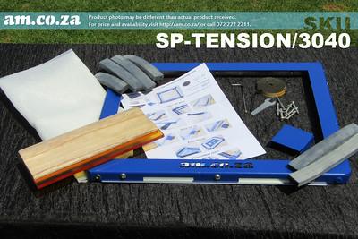 SKU: SP-TENSION/3040, MeshMaster Self-Tensioning Screen Frame Aluminum 300×400mm Inner Size