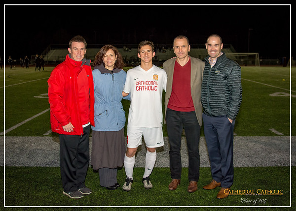 2017 BSoc Senior Night