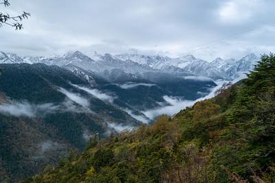 Siguniangshan-Huanglong