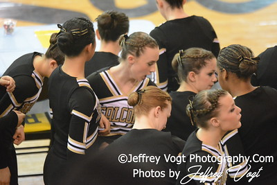 02-01-2014 Poolesville HS Poms MCPS County Championship Division 2,  Photos by Jeffrey Vogt Photography & Kyle Hall