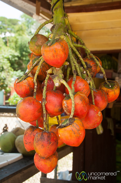 Pejibaye Hanging at Fruit Stand - Dominical, Costa Rica