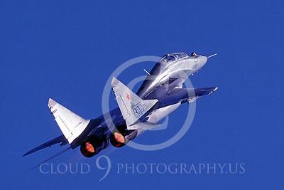 AFTERBURNER: Soviet Mikoyan-Gurevich MiG-29 Fulcrum Jet Fighter Afterburner Pictures