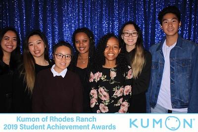 Kumon of Rhodes Ranch 2019 Student Achievement Awards