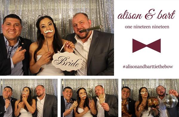 Alison & Bart Wedding - 1.19.19 - Photo Strips
