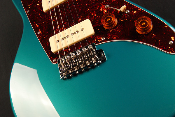 ElectraJet Custom, Ocean Turquoise, G90 Pickups