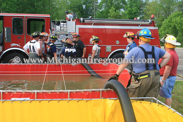 5/20/13 - Eaton Rapids firefighter training