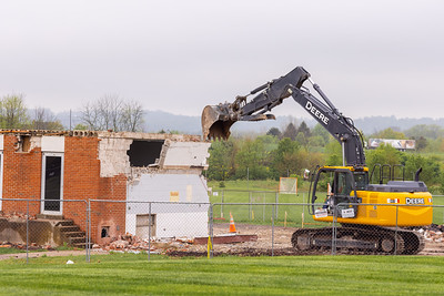 Demolition and landscape May 4th 2021