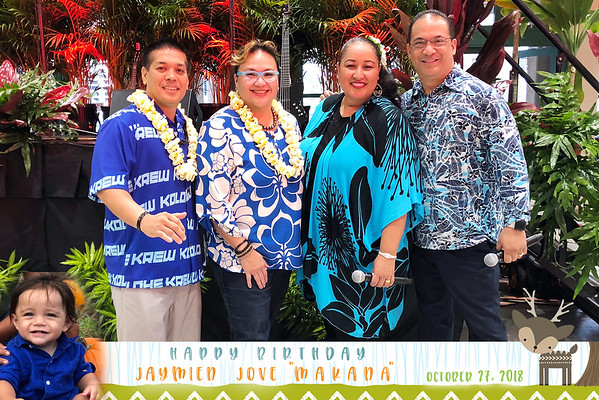 Jaymien Makana 1st Birthday (Mobile Party Print)