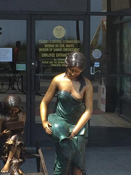 Sexist Statue