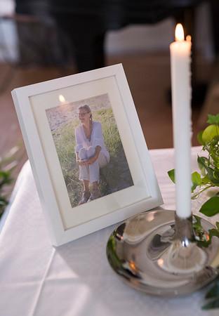 Ullas begravningsceremoni