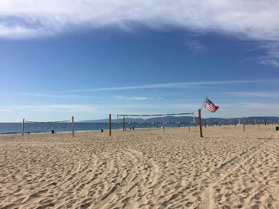 Beach Volleyball @ Marine Ave Manhattan Beach California