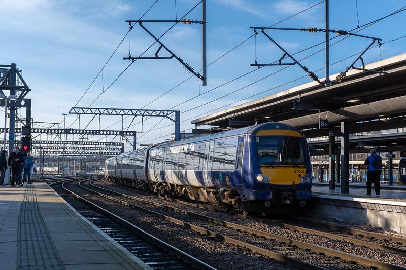 Northern 170459, Leeds