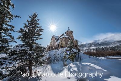 Chapel on the rock  (Saint Catherines)