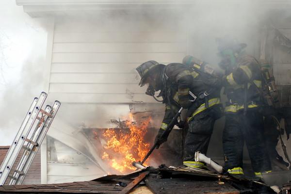 3/10/2010 Working House Fire - Mechanicsville