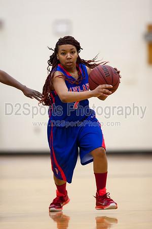 West Forsyth Titans vs Parkland Mustangs Women's Basketball 12/13/2014