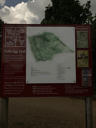 NT - FELBRIGG HALL & GARDENS -NORFOLK