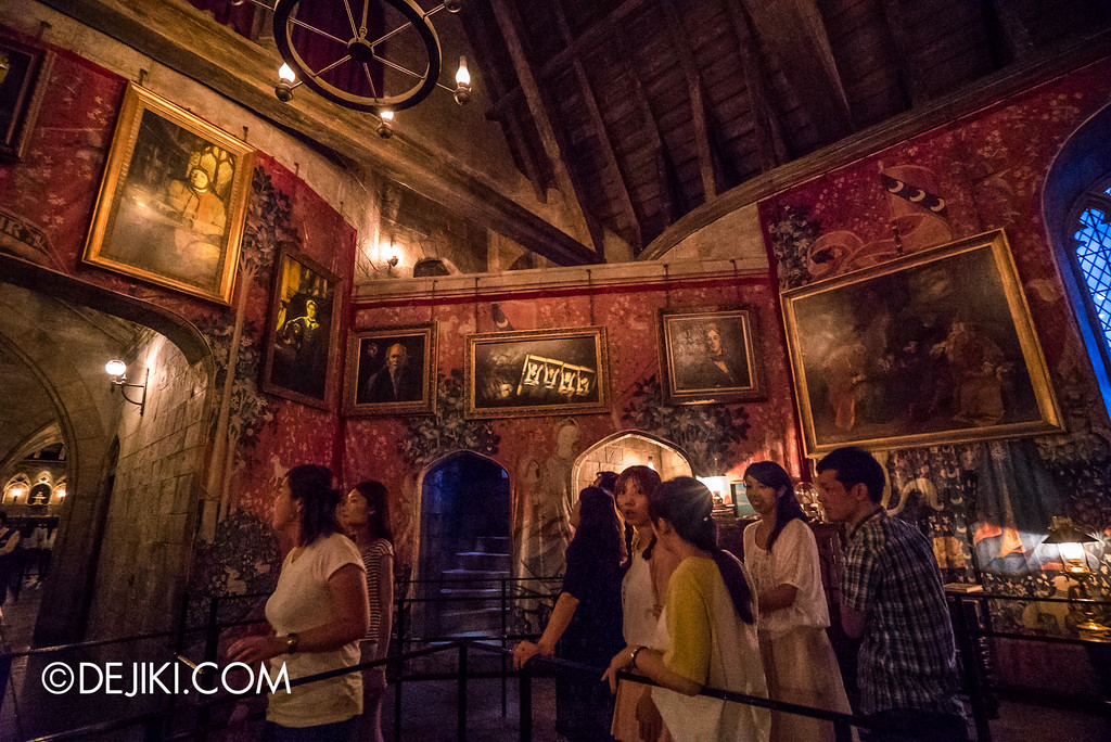 Universal Studios Japan - Harry Potter and the Forbidden Journey / Hogwarts Castle Walk Tour - Gryffindor Common Room 4