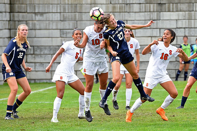 NCAA  W Soccer: Notre Dame at Syracuse; 9/18/16