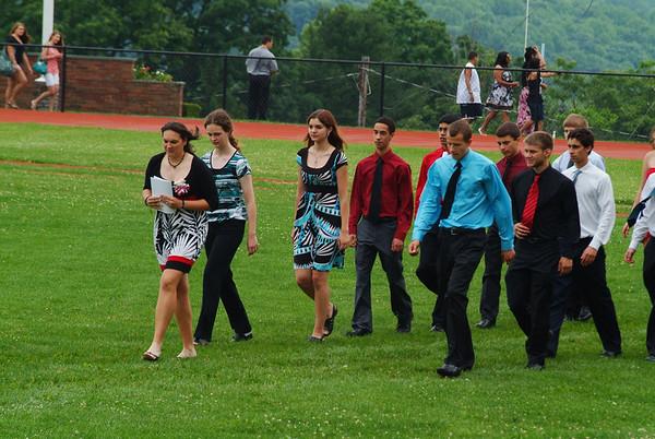 Nick's Graduation - Morris Hills 2011