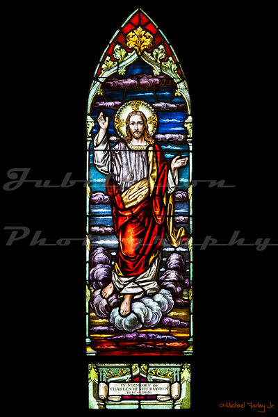 """St. James Episcopal Church, or """"The Red Church"""", in Sonora, CA, opened in 1860."""