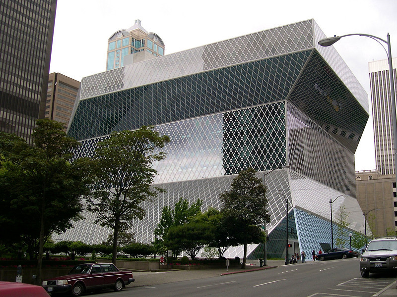 Seattle - May 2004 Public Library of Seattle