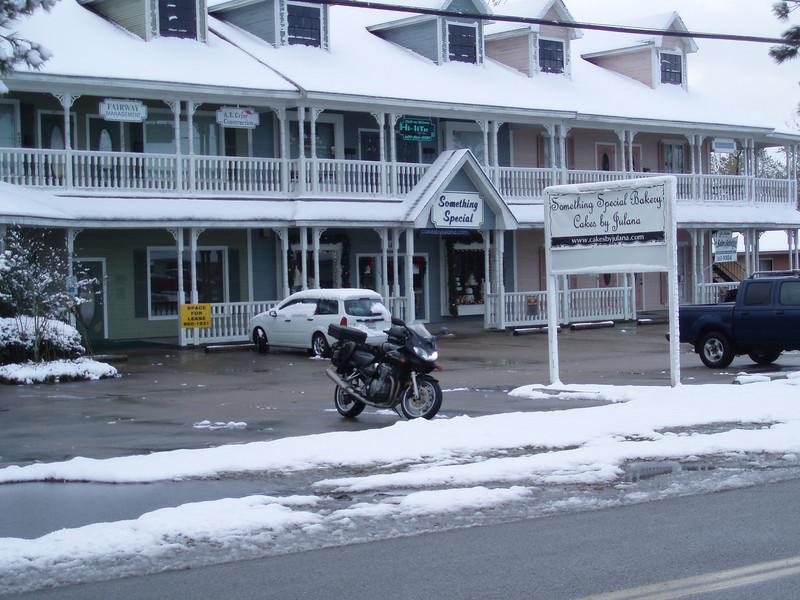 December 11, 2008 - The bakery looks good in white.
