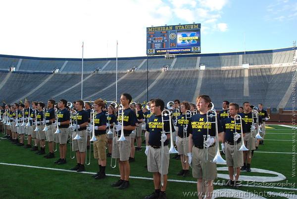 Michigan Stadium Dedication - September 3, 2010