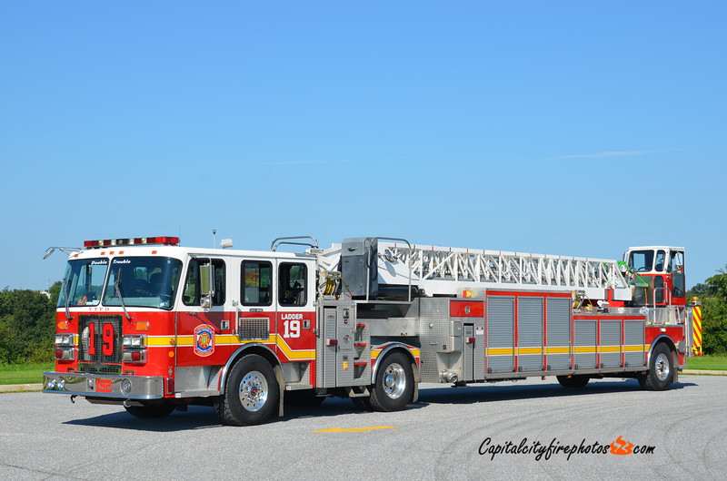 York Township Truck 19-2: 1997 Simon-Duplex/Aerial Innovations 100' (X-Hagerstown, MD)
