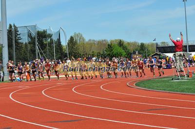 Women's 5000 Final, Heat 1 - 2013 GLIAC Outdoor Track and Field Championships