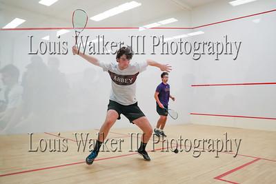 Squash - Prep School Wheeler at Abbey Boys on 1/30/19